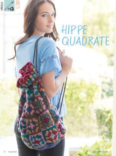 Häkelanleitung - Hippe-Quadrate - Simply Kreativ Heft 02/2020
