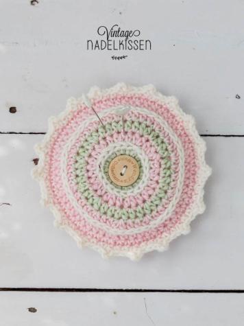 Häkelanleitung - Vintage Nadelkissen - Simply Häkeln - Sommerhäkeln - 02/2020