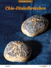 Rezept - Chia-Dinkelbrötchen - Brötchen Backen mit Tommy Weinz Teil 2 – 03/2020