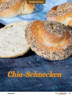 Rezept - Chia-Schnecken - Brötchen Backen mit Tommy Weinz Teil 2 – 03/2020