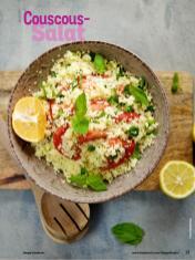 Rezept - Couscous-Salat - Simply Kochen mit Vorräten 02/2020