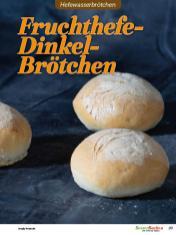 Rezept - Fruchthefe-Dinkel-Brötchen - Brötchen Backen mit Tommy Weinz Teil 2 – 03/2020