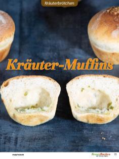 Rezept - Kräuter-Muffins - Brötchen Backen mit Tommy Weinz Teil 2 – 03/2020