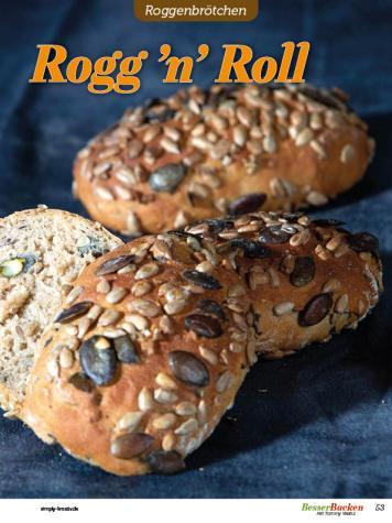 Rezept - Rogg 'n' Roll - Brötchen Backen mit Tommy Weinz Teil 2 – 03/2020