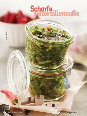 Rezept - Scharfe Petersiliensoße - Simply Kochen mit Vorräten 02/2020