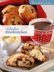 Rezept - Schoko-Zimtbrötchen - Simply Backen Extra Brötchen