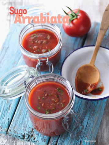 Rezept - Sugo Arrabiata - Simply Kochen mit Vorräten 02/2020
