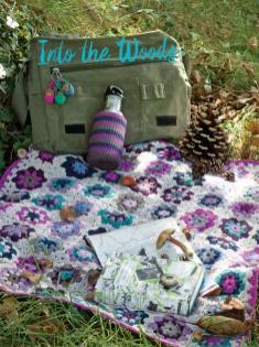 Häkelanleitung - Into the Woods - Best of Simply Häkeln – Die schönsten Decken 02/2020