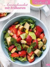 Rezept - Avocadosalat mit Erdbeeren - Simply Backen Sonderheft Erdbeeren – 01/2020