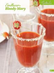 Rezept - Erdbeer Bloody Mary - Simply Backen Sonderheft Erdbeeren – 01/2020