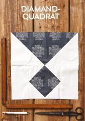 Nähanleitung - Diamand-Quadrat - Simply Kreativ Patchwork kompakt 01/2020