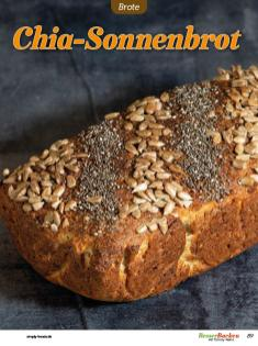 Rezept - Chia-Sonnenbrot - Low Carb Backen mit Tommy Weinz – 01/2020