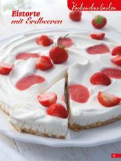 Rezept - Eistorte mit Erdbeeren - Simply Backen Sonderheft Sommertorten – 01/2020
