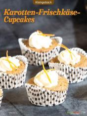 Rezept - Karotten-Frischkäse-Cupcakes - Low Carb Backen mit Tommy Weinz – 01/2020