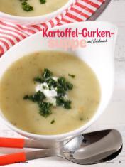 Rezept - Kartoffel-Gurkensuppe mit Bärlauch - Simply Kochen Sonderheft Sommerrezepte 01/2020