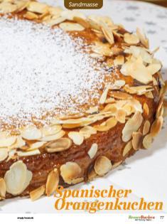 Rezept - Spanischer Orangenkuchen - Besser Backen mit Tommy Weinz Vol. 2 – 04/2020