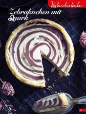 Rezept - Zebrakuchen mit Quark - Simply Backen Sonderheft Sommertorten – 01/2020