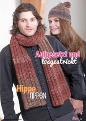 Strickanleitung - Aufgesetzt und losgestrickt und Hippie-Rippen - Lina – Einfach Stricken 04/2020