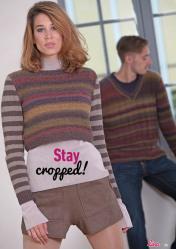Strickanleitung - Stay cropped! - Lina – Einfach Stricken 04/2020