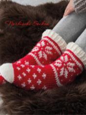 Häkelanleitung - Nordische-Socken - Simply Kreativ Sonderheft Skandinavische Häkel-Designs