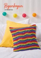 Häkelanleitung - Regenbogen - Simply Häkeln kompakt Kissen 05/2020