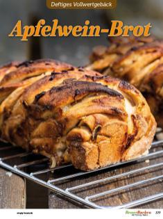 Rezept - Apfelwein-Brot - Vollkorn Backen mit Tommy Weinz – 01/2020