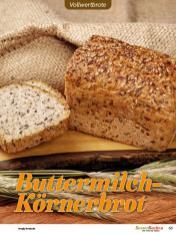 Rezept - Buttermilch-Körnerbrot - Vollkorn Backen mit Tommy Weinz – 01/2020
