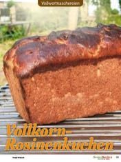 Rezept - Vollkorn-Rosinenkuchen - Vollkorn Backen mit Tommy Weinz – 01/2020