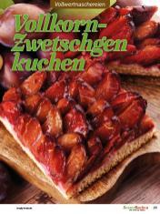 Rezept - Vollkorn-Zwetschgenkuchen - Vollkorn Backen mit Tommy Weinz – 01/2020