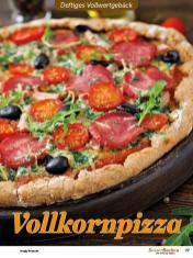 Rezept - Vollkornpizza - Vollkorn Backen mit Tommy Weinz – 01/2020