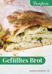 Rezept - Gefülltes Brot - Simply Backen kompakt Brote 04/2020