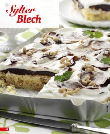 Rezept - Sylter Blech - Simply Backen Blechkuchen – 03/2020