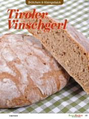Rezept - Tiroler Vinschgerl - Easy Backen mit Sauerteig mit Tommy Weinz – 01/2020
