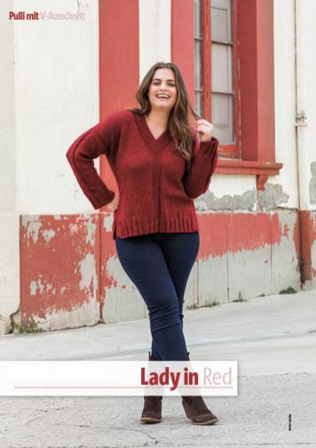 Strickanleitung - Lady in Red - Fantastische Herbst-Strickideen 05/2020
