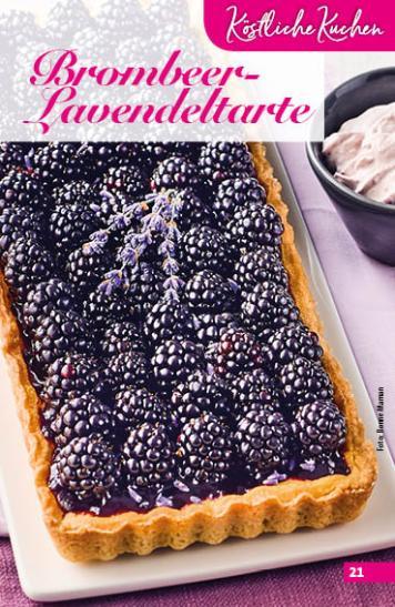 Rezept - Brombeer-Lavendeltarte - Simply Backen Sonderheft Obstkuchen – 01/2020