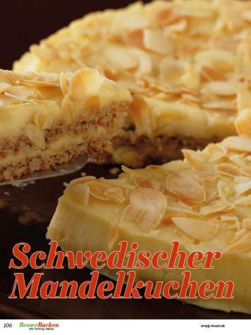 Rezept - Schwedischer Mandelkuchen - Backideen für Weihnachten, Herbst & Winter mit Tommy Weinz – 01/2020