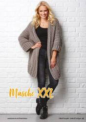 Häkelanleitung - Masche XXL - Simply Häkeln kompakt Extra Cardigans & Jacken 01/2021