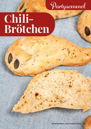 Rezept - Chili-Brötchen - Simply Backen kompakt Brötchen – 01/2020