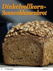 Rezept - Dinkelvollkorn-Sonnenblumenbrot - Best of Besser Backen mit Tommy Weinz – 01/2021