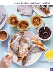 Rezept - French Toast mit Heidelbeeren und Zimt - Simply Kochen Sonderheft: One-Pot-Gerichte