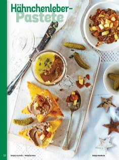 Rezept - Hähnchenleber-Pastete - Simply Kochen Weihnachten 01/2020