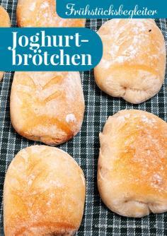 Rezept - Joghurtbrötchen - Simply Backen kompakt Brötchen – 01/2020