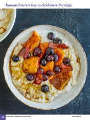 Rezept - Karamellisierter Bacon-Heidelbeer-Porridge - Simply Kochen Sonderheft: One-Pot-Gerichte