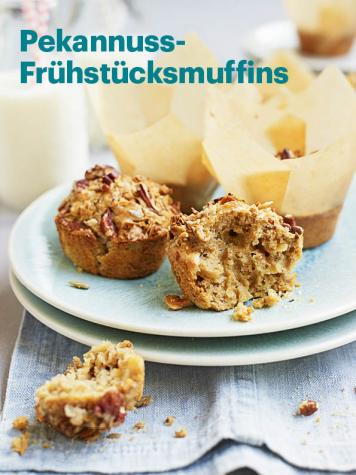 Rezept - Pekannuss-Frühstücksmuffins - Vegan Food & Living – 05/2020