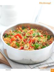 Rezept - Pilz-Reistopf - Simply Kochen Sonderheft: One-Pot-Gerichte