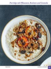 Rezept - Porridge mit Pflaumen, Rosinen und Granola - Simply Kochen Sonderheft: One-Pot-Gerichte