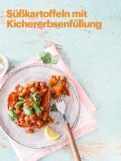 Rezept - Süßkartoffeln mit Kichererbsenfüllung - Vegan Food & Living – 05/2020