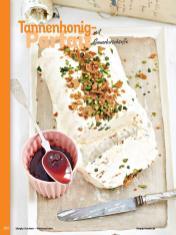 Rezept - Tannenhonig-Parfait mit Sauerkirschsoße - Simply Kochen Weihnachten 01/2020