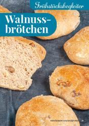 Rezept - Walnussbrötchen - Simply Backen kompakt Brötchen – 01/2020