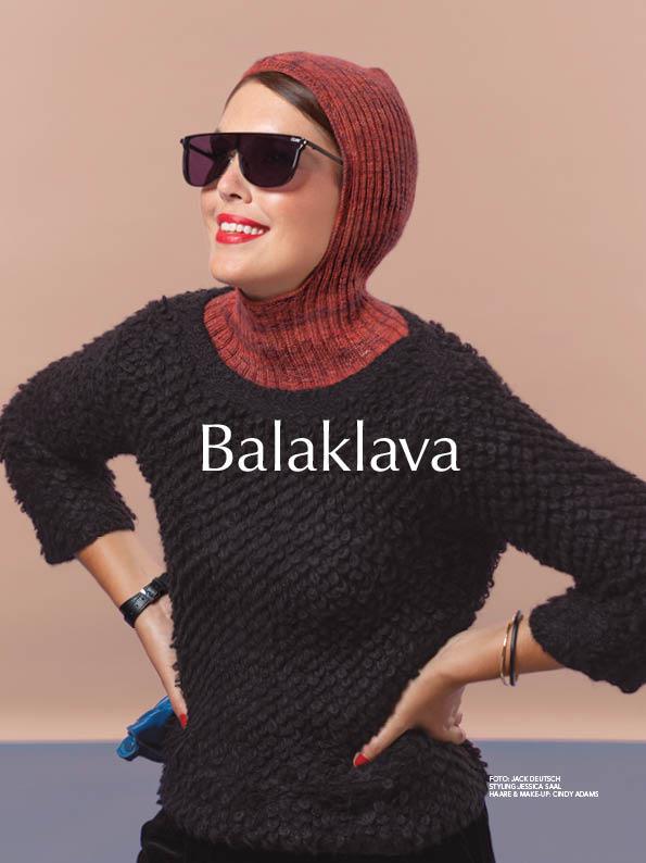 Strickanleitung - Balaklava - Best of Designer Knitting 01/2021